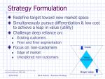 strategy formulation5