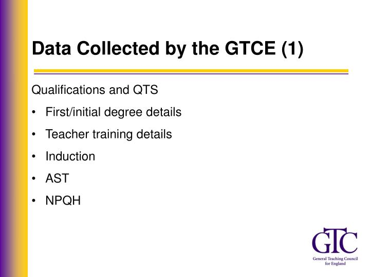 Data Collected by the GTCE (1)