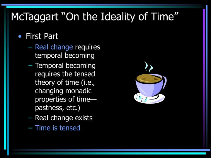 "McTaggart ""On the Ideality of Time"""