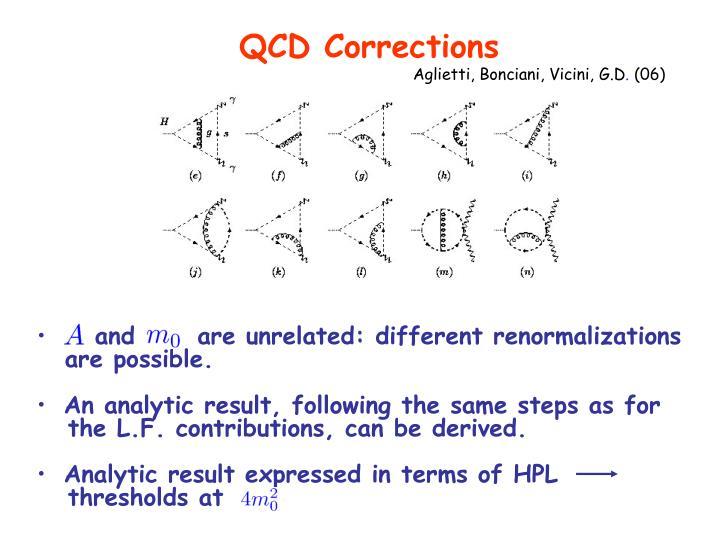QCD Corrections