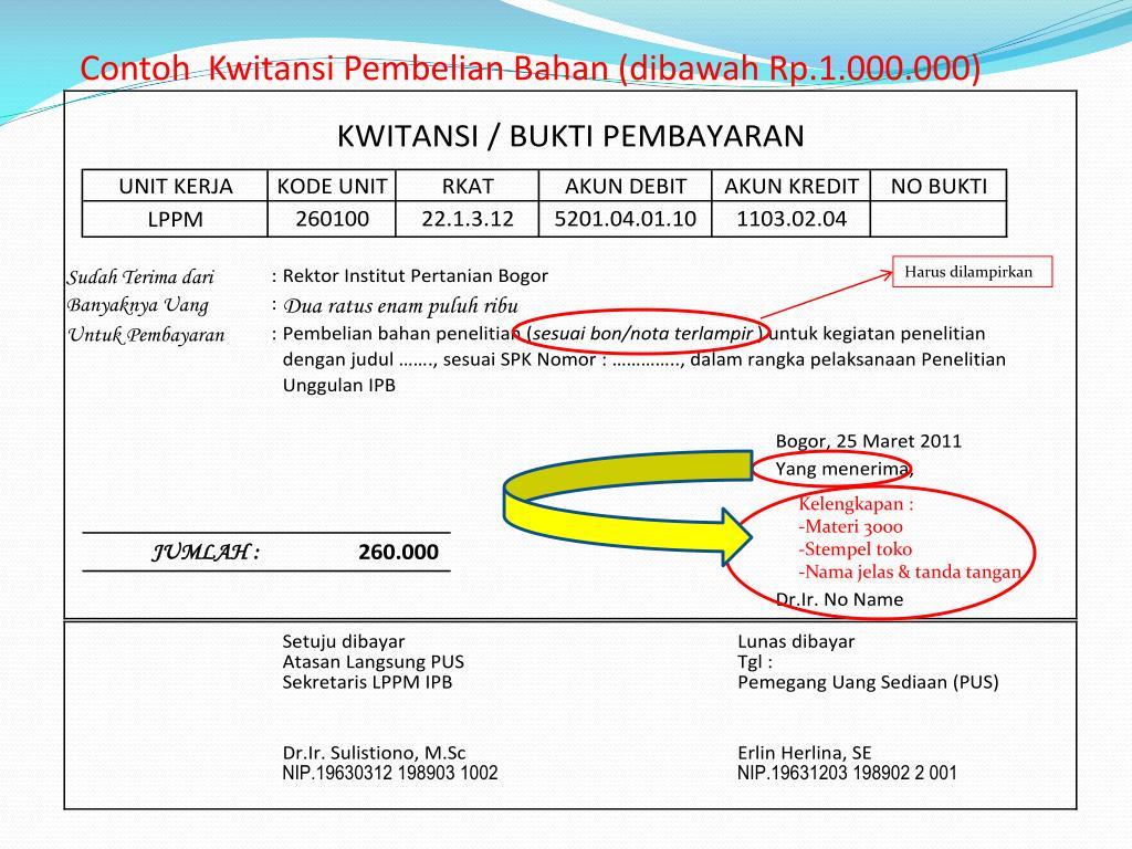 Ppt Pertanggungjawaban Keuangan Penelitian Unggulan Ipb