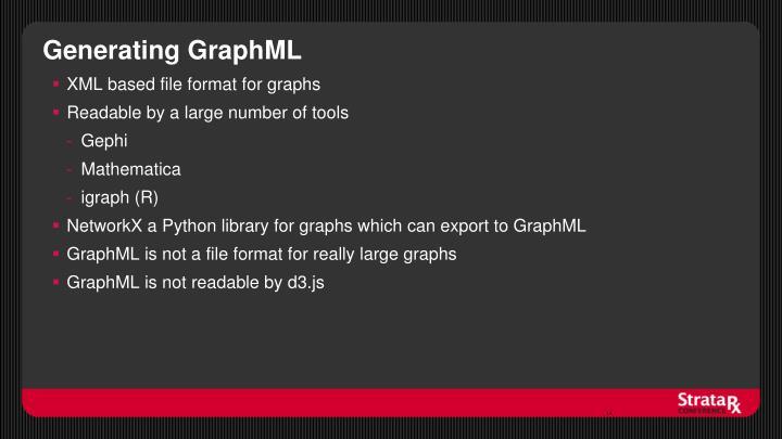 Generating GraphML