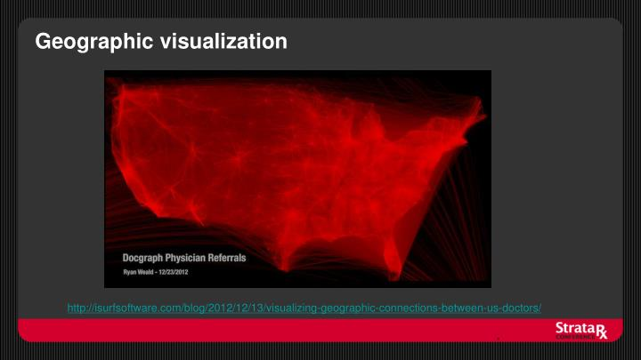 Geographic visualization