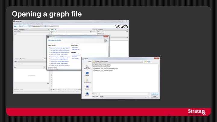 Opening a graph file