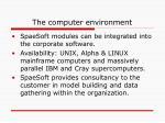 the computer environment