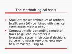 the methodological basis