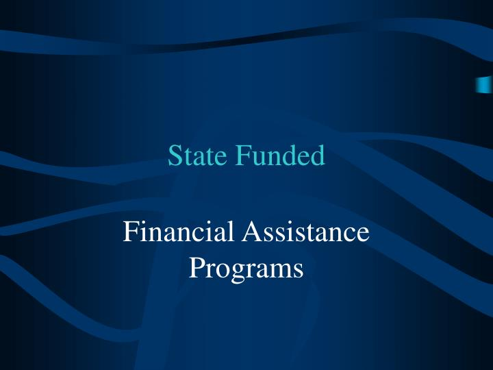 State funded