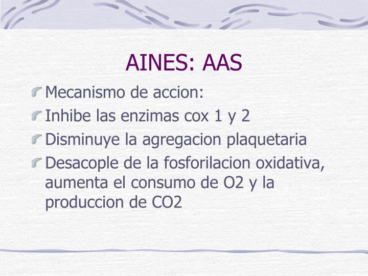 AINES: AAS