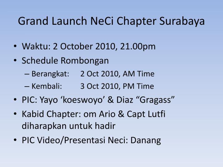Grand Launch