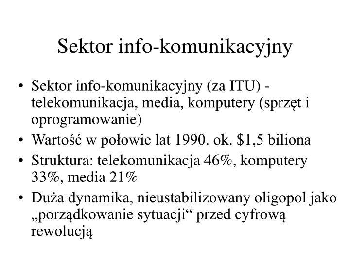 Sektor info-komunikacyjny