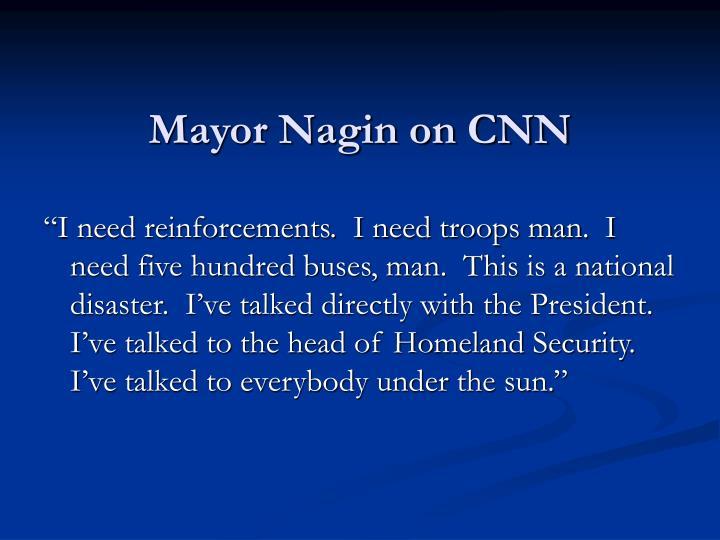Mayor Nagin on CNN