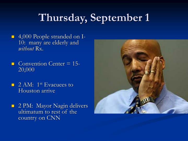Thursday, September 1