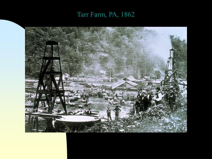 Tarr Farm, PA, 1862