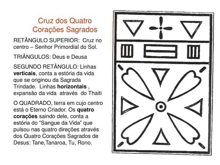 Cruz dos Quatro Corações Sagrados