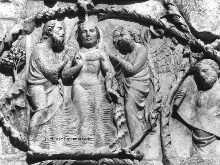 Third Pillar: Baptism of Christ