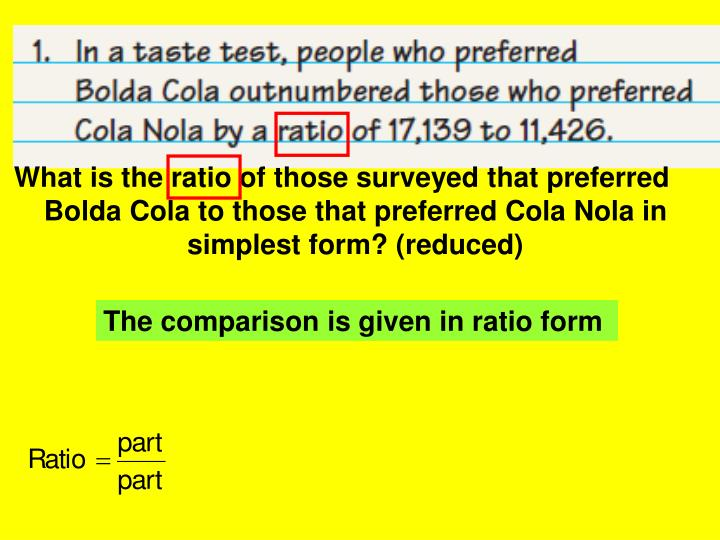 What is the ratio of those surveyed that preferred Bolda Cola to those that preferred Cola Nola in simplest form? (reduced)