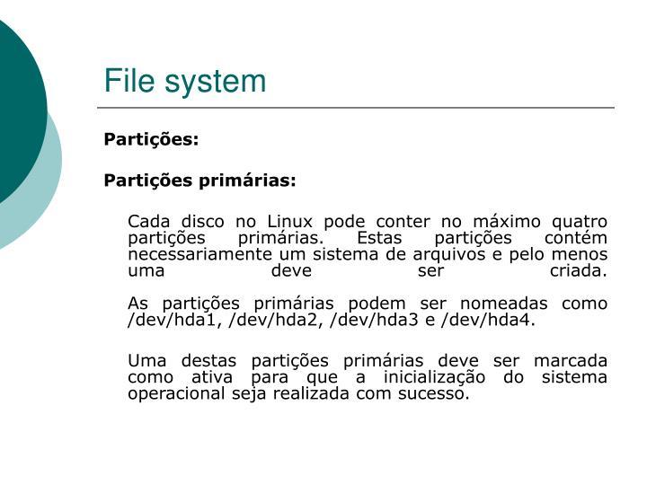 File system1