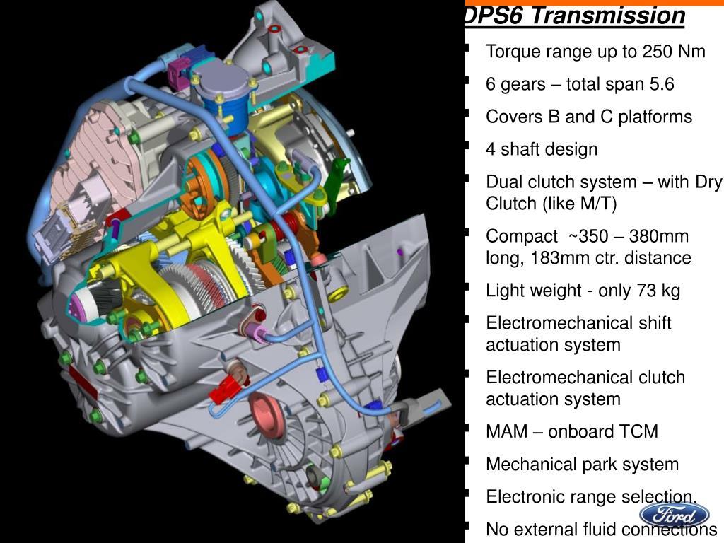 PPT - DPS6 Powershift Transmission PowerPoint Presentation