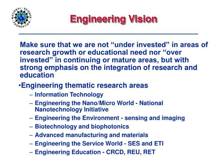 Engineering Vision