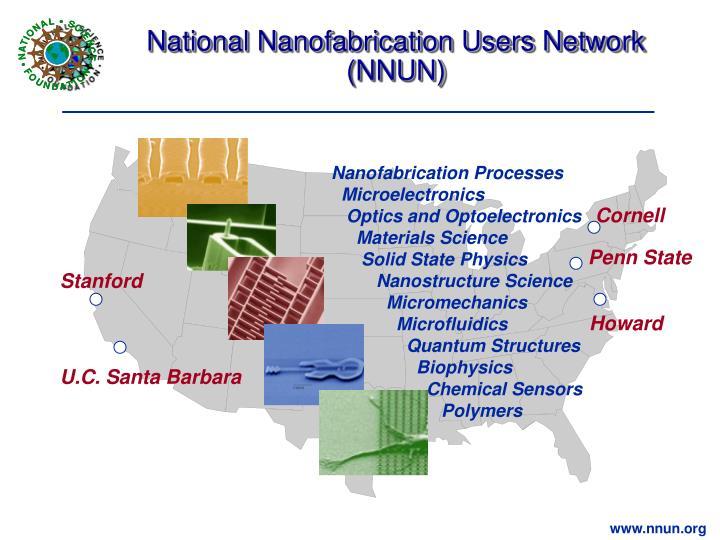National Nanofabrication Users Network