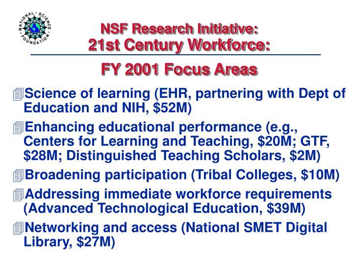 NSF Research Initiative:
