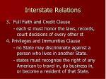 interstate relations1