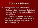 interstate relations2