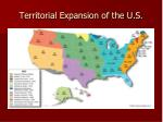 territorial expansion of the u s