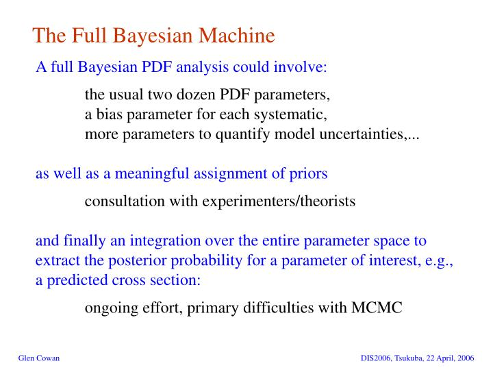 The Full Bayesian Machine