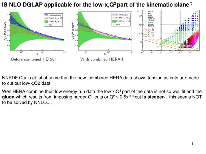 IS NLO DGLAP applicable for the low-x,Q