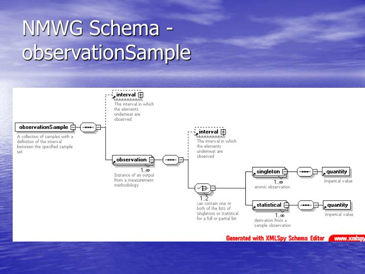 NMWG Schema - observationSample
