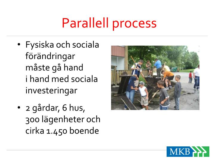 Parallell process