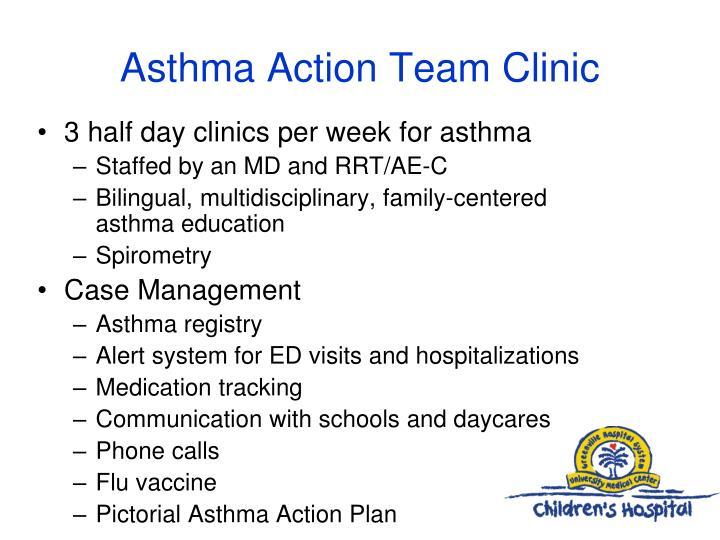 Asthma Action Team Clinic