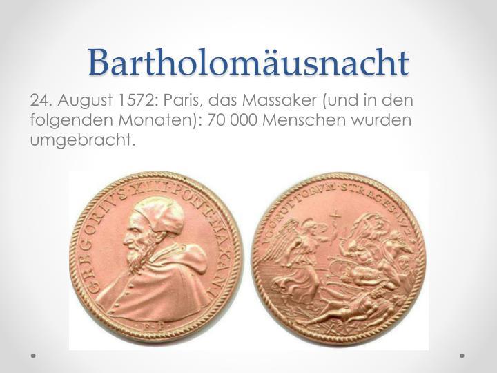 Bartholomäusnacht