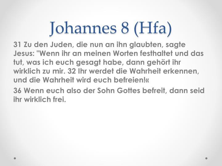 Johannes 8 (