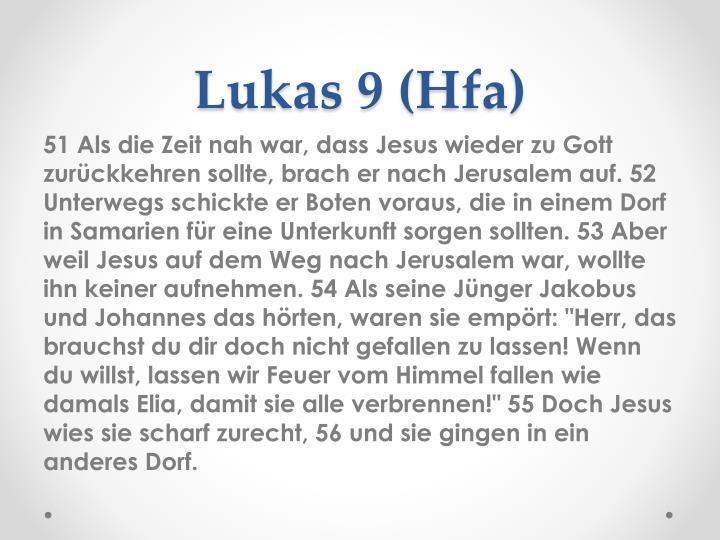Lukas 9 (