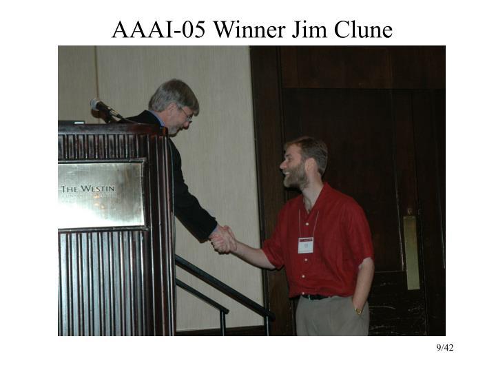AAAI-05 Winner Jim Clune