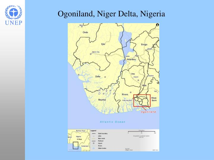 Ogoniland niger delta nigeria