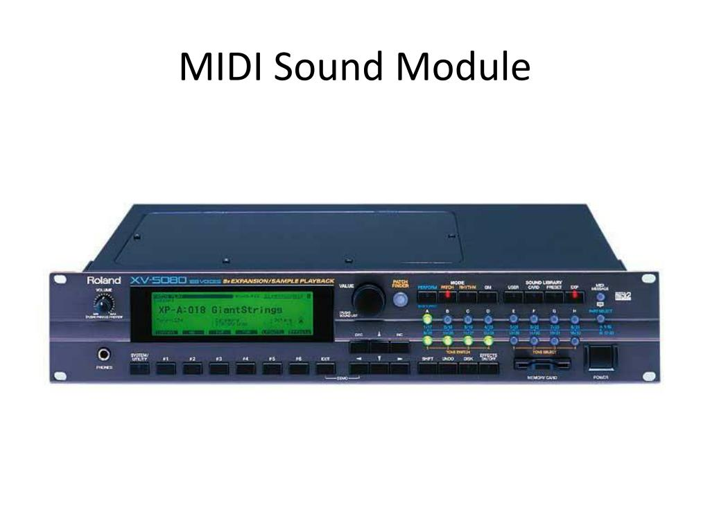 PPT - MIDI Basics Review PowerPoint Presentation - ID:4691449