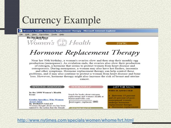 Currency Example