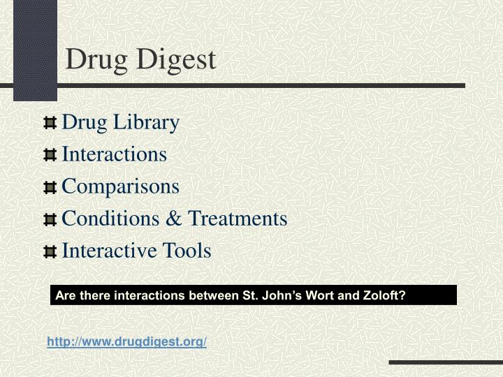 Drug Digest