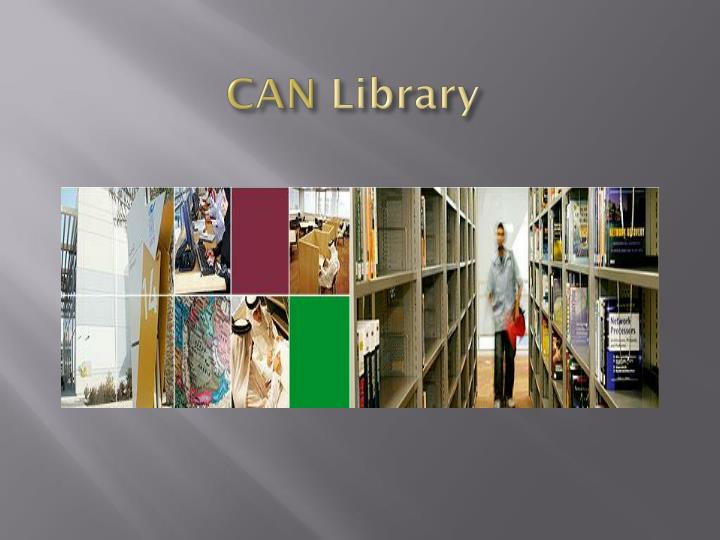 can library n.