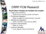 crrf fcm research1