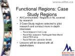 functional regions case study regions