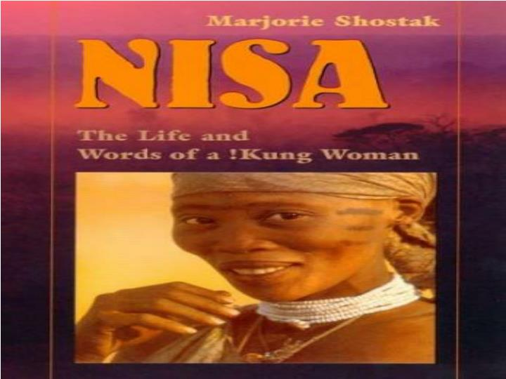 an analysis of the concept of marriage in marjorie shostaks book nisa the life and words of a kung w - engineering economic analysis nelson biology 12 answers dynamic earth unit 1 answers nisa the life and words of a kung woman marjorie shostak a marriage.
