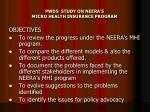 pwds study on neera s micro health insurance program