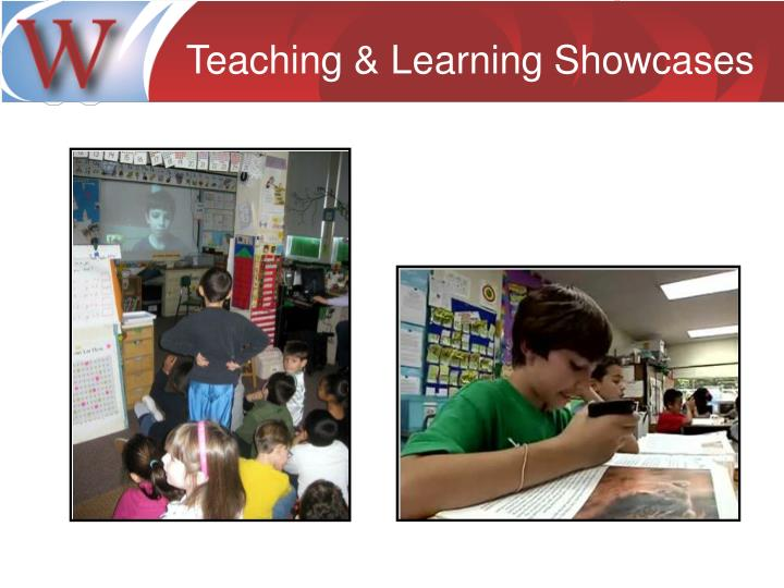 Teaching & Learning Showcases