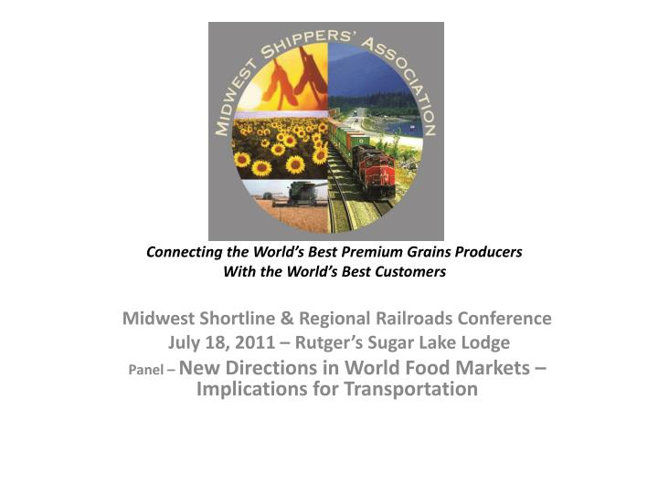 connecting the world s best premium grains producers with the world s best customers n.