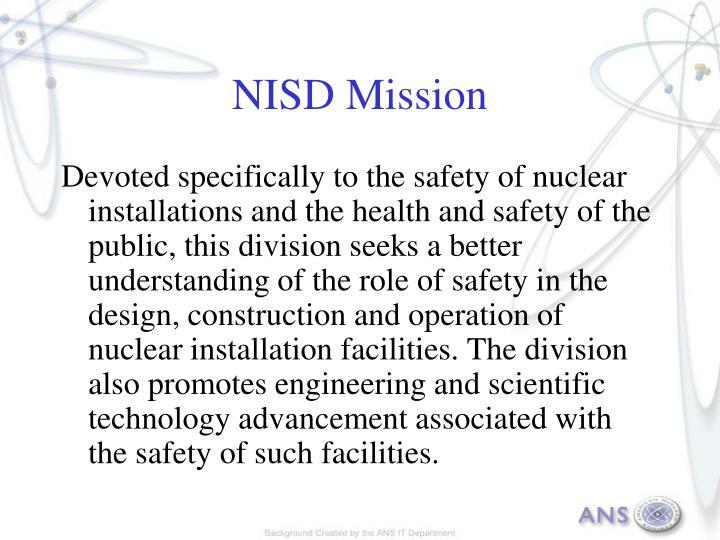 Nisd mission