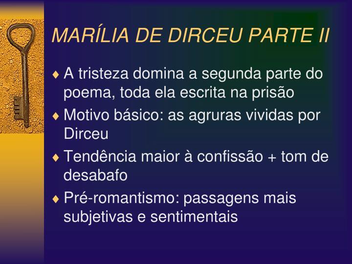 MARÍLIA DE DIRCEU PARTE II